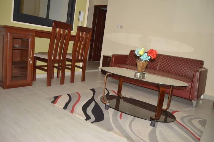 Appartement meublé situé près du centre ville