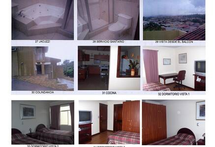 Comoda habitacion - Curridabat - Ház