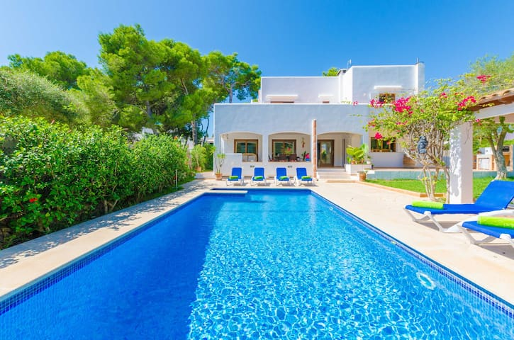 CA NESTEL - Villa for 8 people in Cala d'Or.
