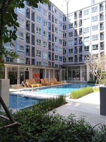 泰好玩 全新公寓 近轻轨BTS E15 Samrong 站