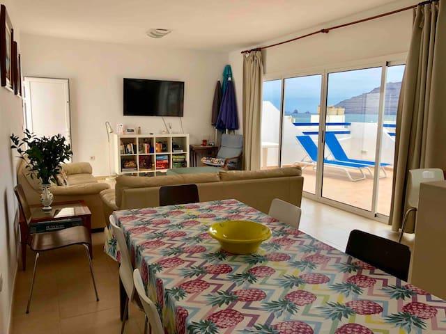 Casa NILOSO La Graciosa  Mar, Sol y Risco
