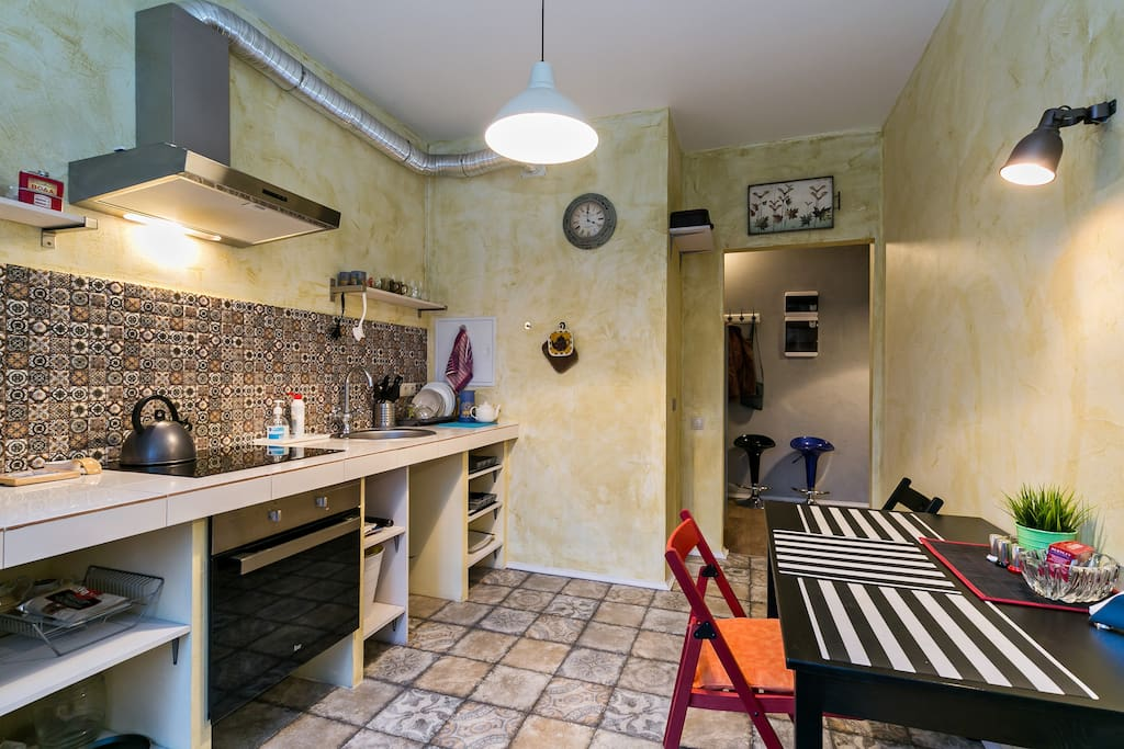Kitchen, 11 m2 Кухня 11 м2