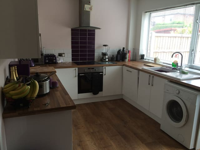 Double bright modern room in Leeds - Leeds - Dom