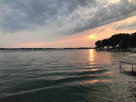 Summer fun on the water - Johnson Lake