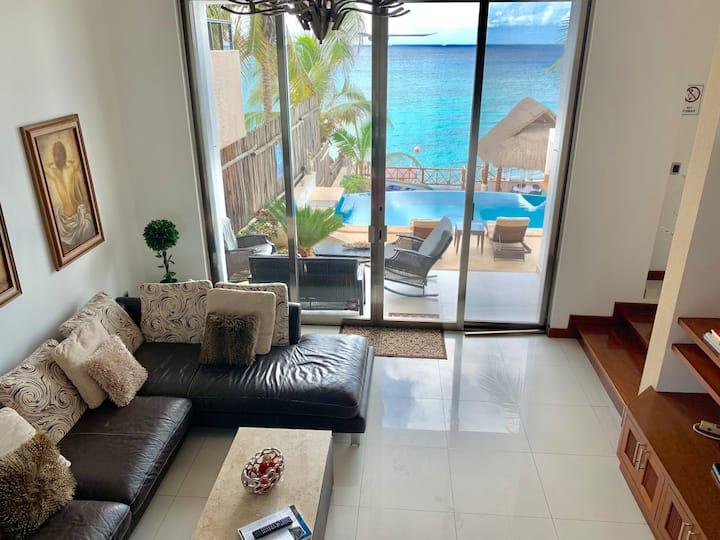 Villa Paula Cozumel ,Ocean view W/Pool