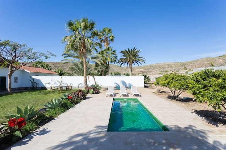 El Coronel: Fabulous Villa, Pool - Palm-Mar - Talo