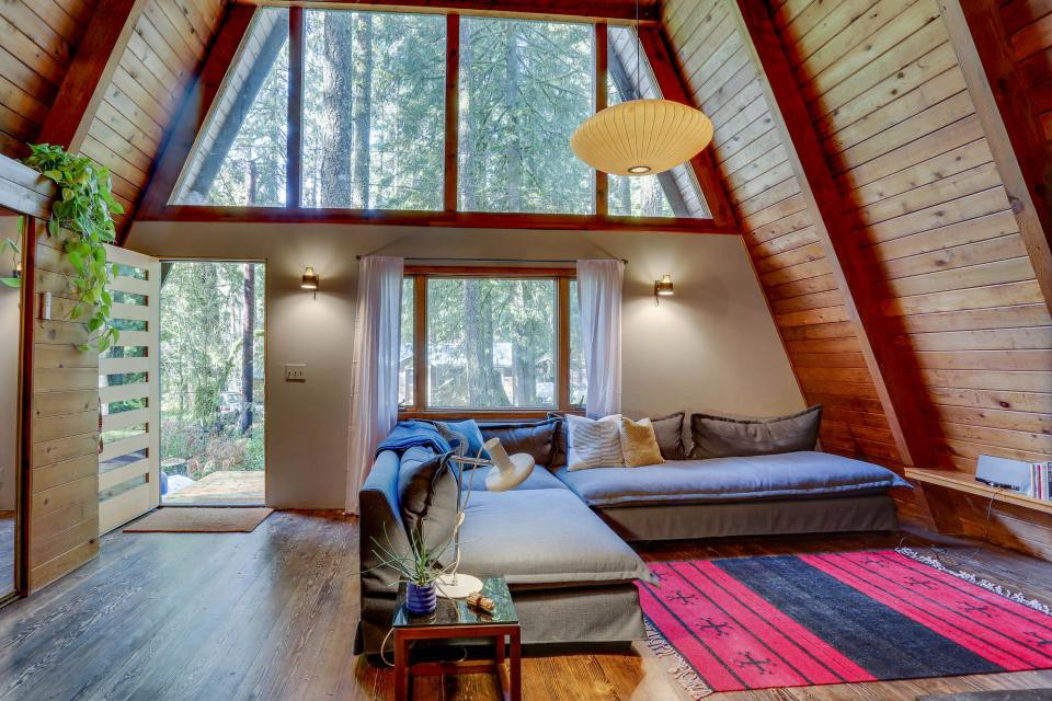 Rancho Relaxo   A Beautiful Mountain A Frame   Cabins For Rent In  Rhododendron, Oregon, United States