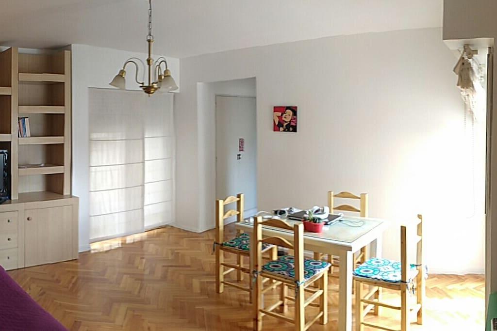 Living - Comedor.  Living Room - Dinning Room