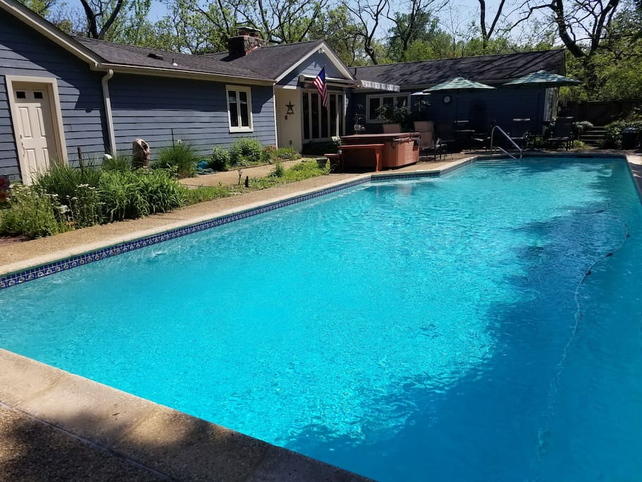 50' swimming pool with for shared  use.