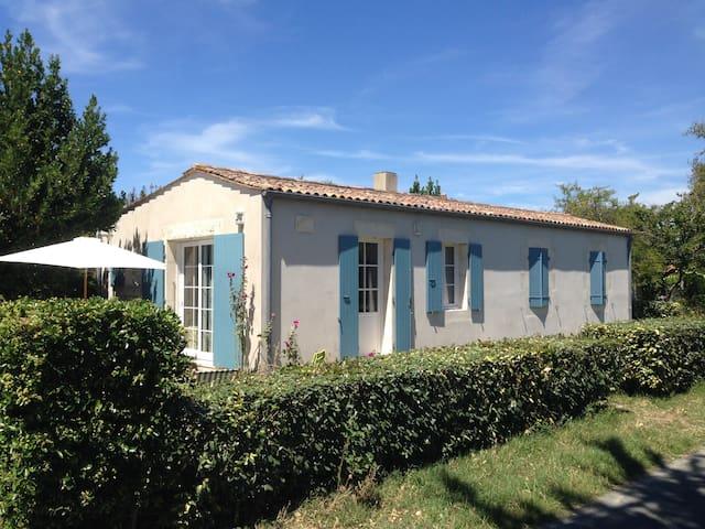Maison de charme séjour nature sur l'île d'Aix