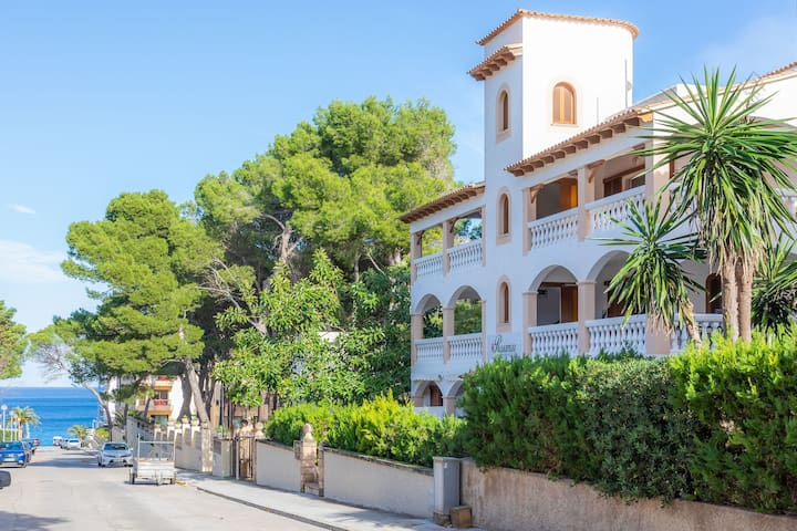 With loggia and near the beach - Apartment Rosa Mar 7