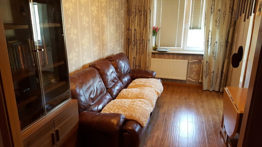 comfortable 1 bedroom apartment in city centre