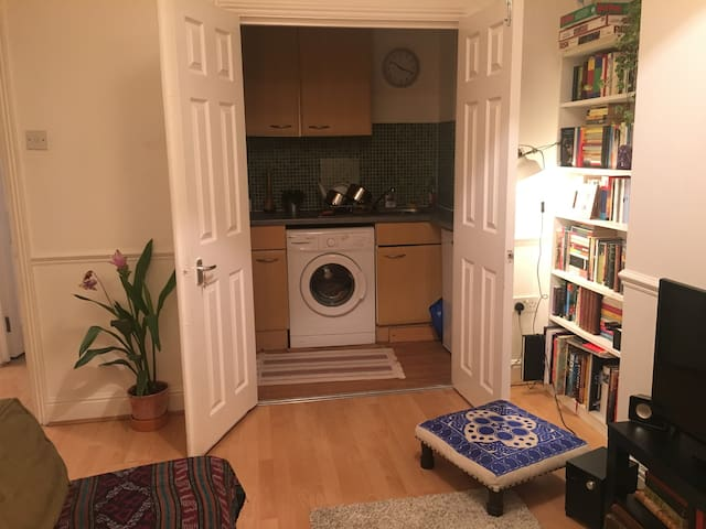 Our (very small!) kitchen