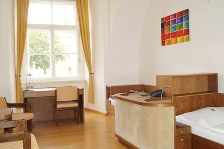 Gemütliches und ruhiges Zimmer im Stift Vorau