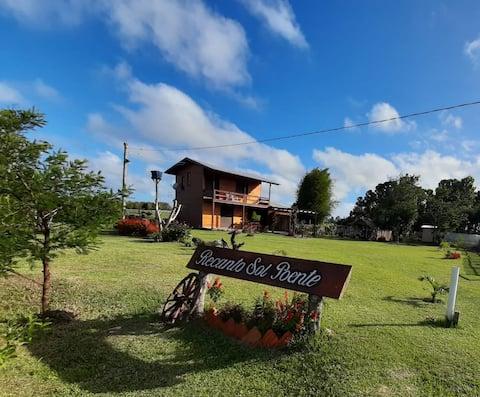 Casa de campo em Tavares RS 1,5 km da Lagoa.