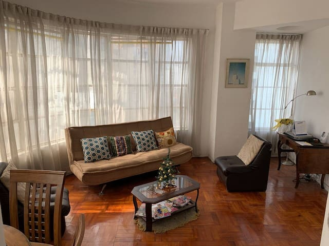#1 APARTMENT IN PARQUE KENNEDY WITH 24/7 SECURITY