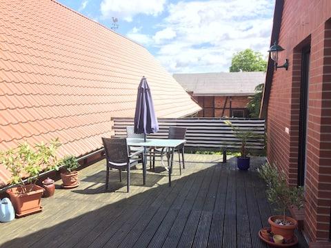 Moderne Dachgeschosswohnung zum Wohlfühlen