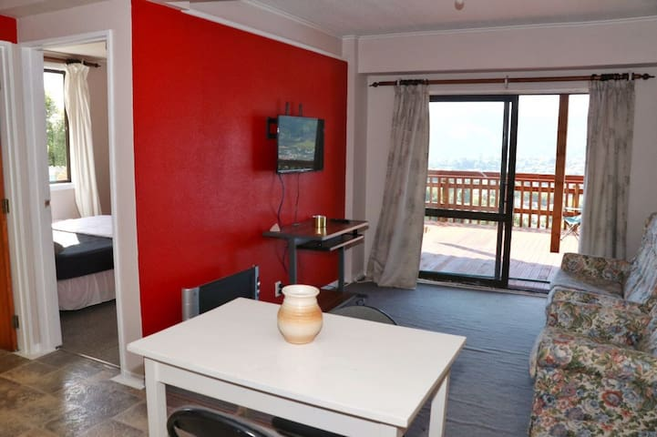 Private apartment, perfect location + views!