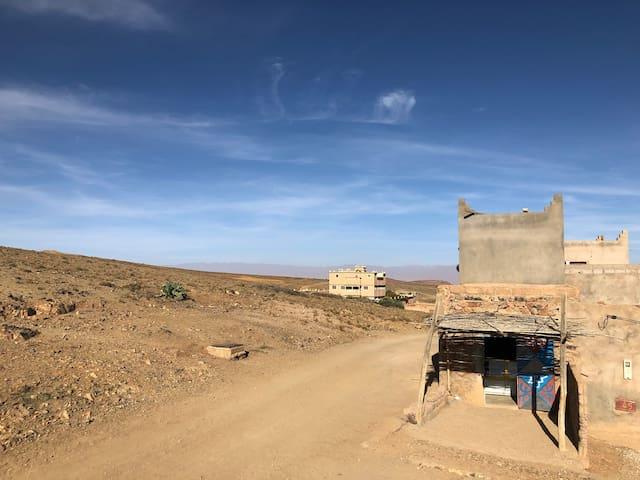 Gite Tagdilt chez une famille berbere, tres calme