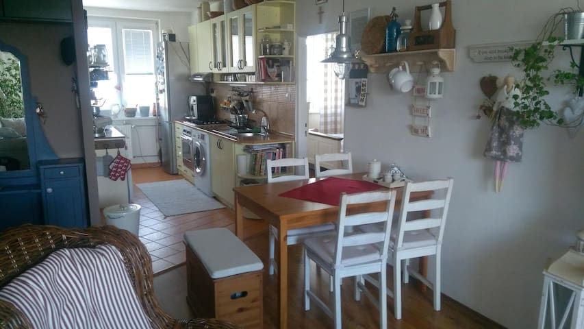 Very nice 3 bed room flat during IIHF Kosice.
