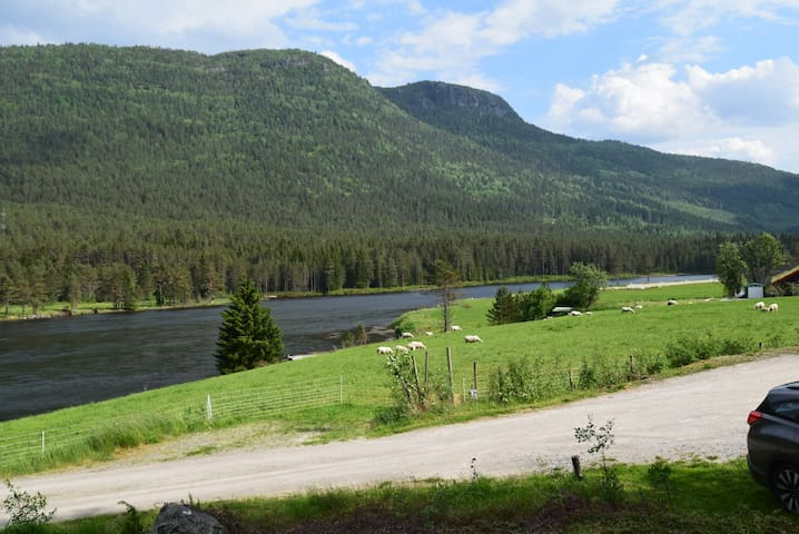 Liten hytte til leie i Setesdalen / Helle - Rysstad - Cabin