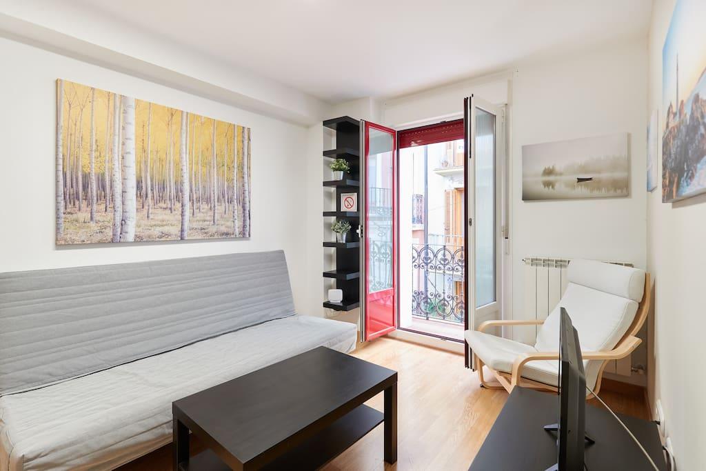 C ntrico y luminoso primer piso en casco viejo apartamentos en alquiler en pamplona navarra - Alquiler apartamento pamplona ...