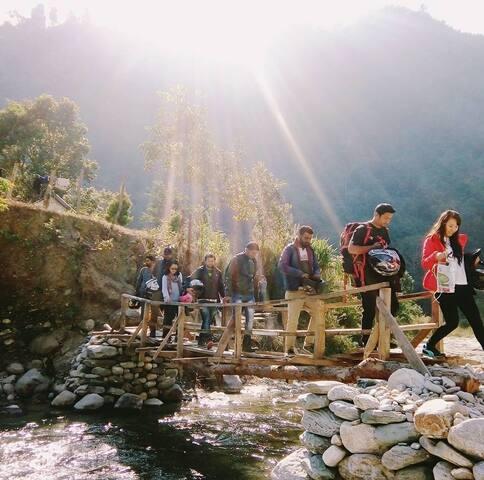 Kannan Valley Riverstay - Reshi - Cabin
