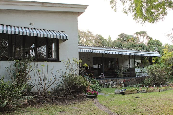 Family home with a huge veranda perfect for all weather conditions