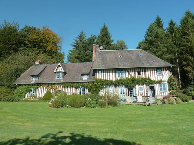 Peaceful Normandy Manor House - Vieux-Bourg - Bed & Breakfast