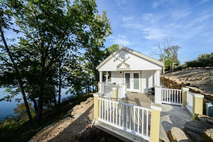 Treehouse Cottage at Skiatook Lake