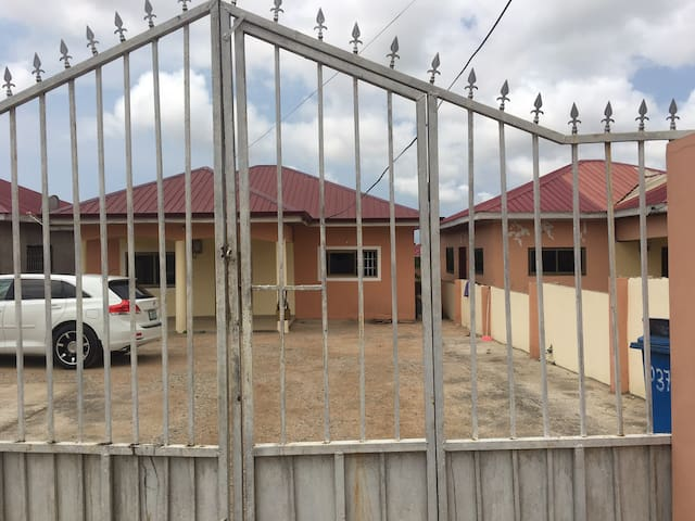 KASOA MILLANIUM CITY ESTATES 2 BEDROOM FLAT.
