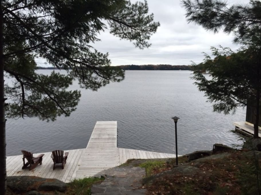 The Dock on Lake Muskoka