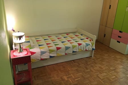 Cozy room near the station and UN - 日内瓦 - 公寓