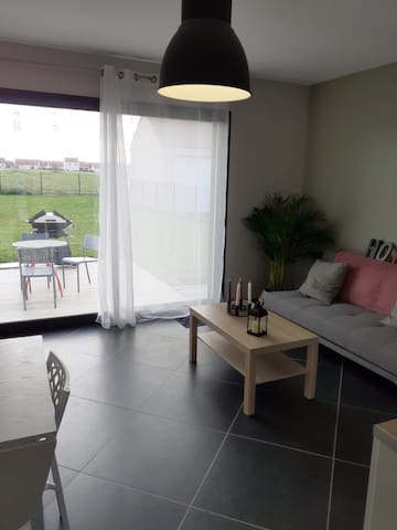 Appartement cosy avec terrasse privative