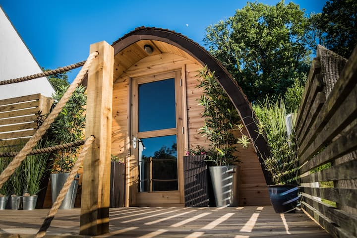Self-contained Earth Pod in Picturesque Penally