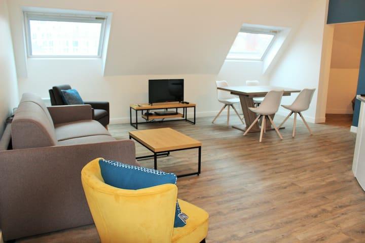 Appartement centre le Mans proche cité plantagenet