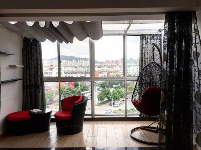 红联高河塘站顶层舒适主卧 工作室 独卫 带天台 - Ningbo Shi - Condomínio