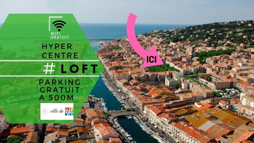 Superbe Loft 77m2 Top Emplacement coeur de ville !
