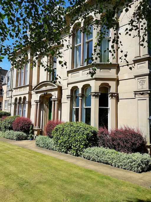 Victorian B listed building with greek influences and stunning period features intact.