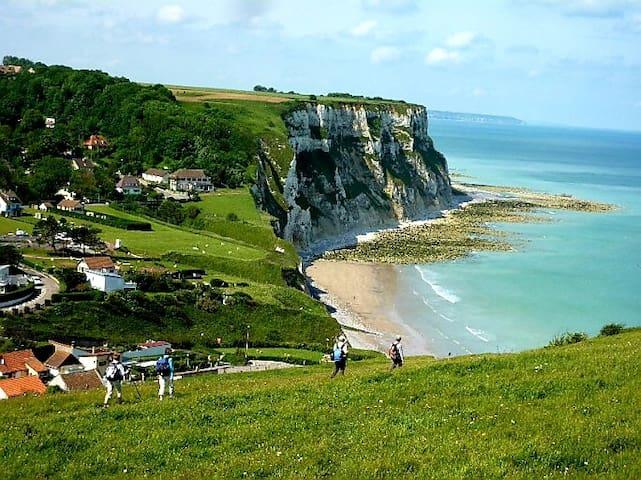 maison au calme proche mer et de Dieppe