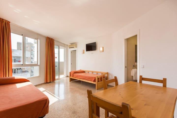 Apartamento 1 dormitorio superior con Terraza-3 Px