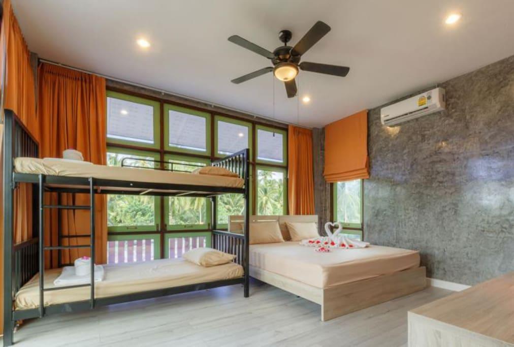 Deluxe Room - A floor 2 for 4-6 guests