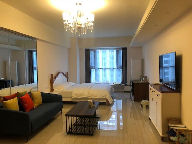 临沂市北城新区恒大华府自助公寓干净卫生公寓