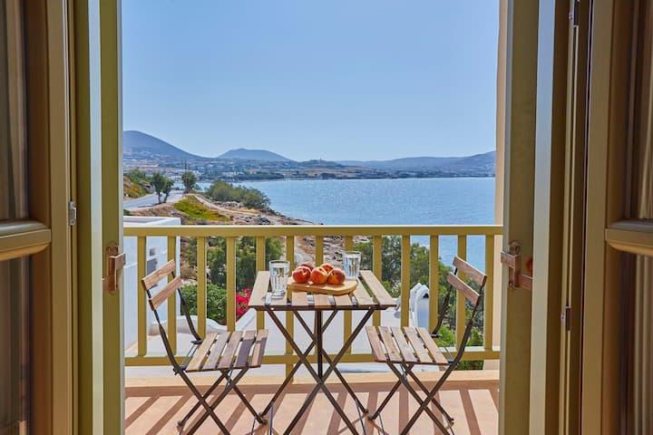Ochre Dream, Beach front & Sunset villa Naousa (4)