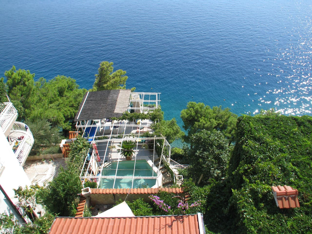 View of pool/sea