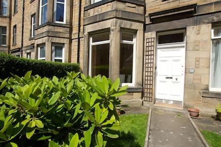 Gorgeous bright ground floor flat with garden - Edinburgh - Apartment