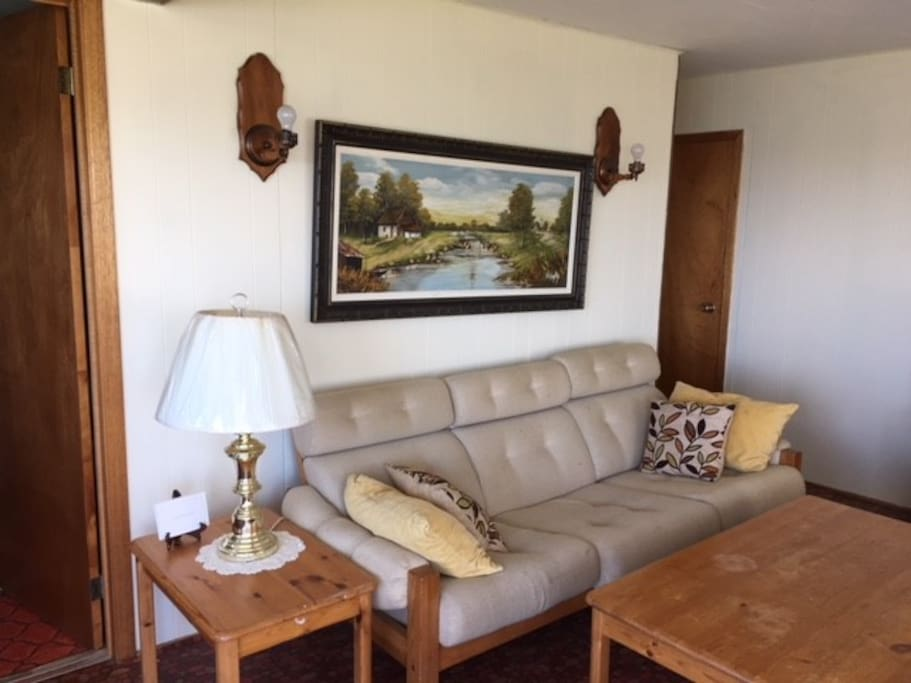 the family room from one angle