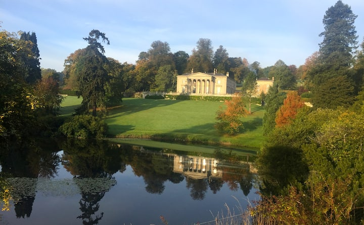 Exceptional setting, Millichope Park Wing, Ludlow