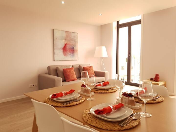 SG II - Apartamento Deluxe 3 quartos Vista Cidade