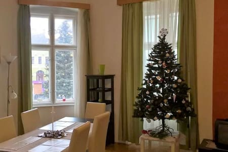 Dobó Square spacious flat with downtown panorama - Eger